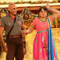 Puneet Issar and Upasana Singh