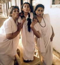 Pouty 'Gangaa' ladies!
