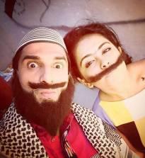 'Muchhi' couple!