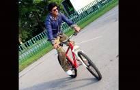 King Khan on wheels!!