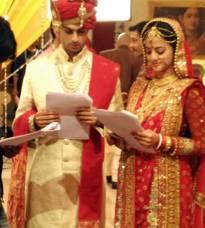 Wedding vows!