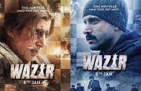 'Wazir' posters