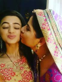 Helly Shah and Alka Kaushal