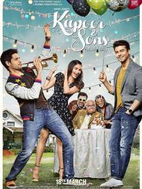 Revealed: 'Kapoor & Sons' Poster