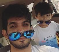 Like father, like son!