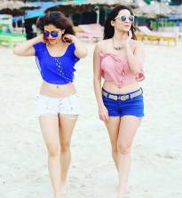 Girls In Blue!