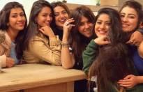 Ekta Kapoor, Anita Hassanandani, Divyanka Tripathi, Anjali Mukherjee