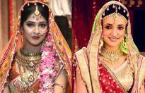 Sonarika Bhadoria and Sanaya Irani