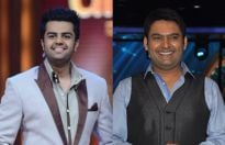 Manish Paul and Kapil Sharma