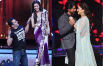 Salman Khan, Madhuri Dixit and Shah Rukh Khan