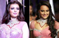 Ayesha Takia and Sonakshi Sinha