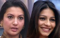 Gauahar Khan and Tanishaa Mukherjee