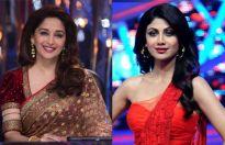 Madhuri Dixit and Shilpa Shetty
