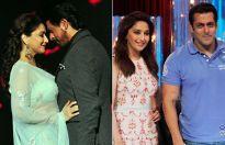 Shah Rukh Khan, Salman Khan and Madhuri Dixit