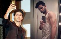 Which actor's selfie looks better?