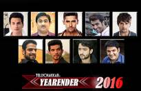 Who is the Top TV Face of the Year 2016 (Male)?