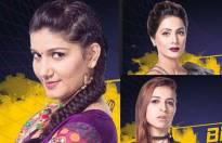 Sapna Choudhary, Hina Khan, Benafsha Soonawalla