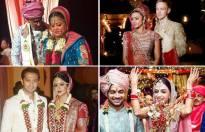 Which bride looks most stunning in her wedding attire?