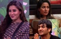 Hina Khan, Shilpa Shinde & Vikas Gupta