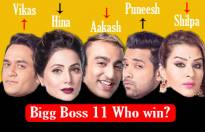 Who will win Bigg Boss 11?