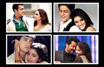How many movies have these Bollywood actors paired together?