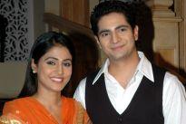 Hina Khan and Karan Mehra