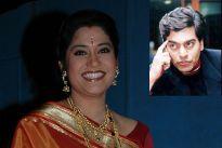 Renuka Shahane and Ashutosh Rana