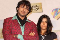 Sarwar Ahuja and Ekta Kapoor