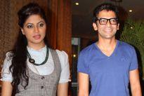 Kavita Kaushik and Sunil Grover