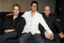 Ravi with Javed and Naved Jaffery