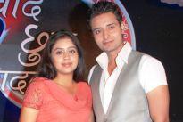 Neha Sargam and Abhishek Tiwari
