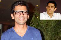 Sunil Grover and Aamir Khan