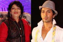 Saroj Khan and Terence Lewis