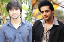 Harshad Chopda and Shakti Arora