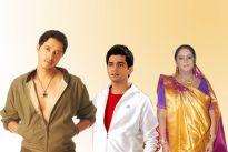 Shreyas Talpade, Vishal Singh and Rupal Patel