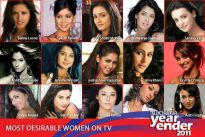 Most Desirable Women on TV in 2011