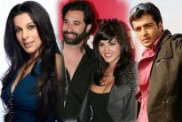 Pooja Bedi, Daniel Webber and Sunny Leone, Sachin Shroff