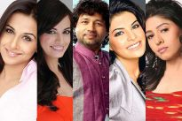 Vidya Balan, Dia Mirza, Kailash Kher, Jacqueline Fernandes and Sunidhi Chauhan