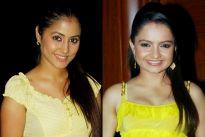 Giaa Maanek and Hina Khan