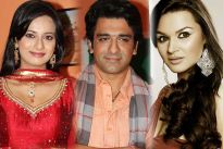 Neha Janpandit, Eijaz Khan and Aashka Goradia