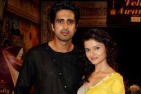 Avinash Sachdev and Rubina Dilak