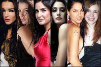 Amy Jackson, Giselle Monteiro, Katrina Kaif, Nargis Fakhri, Barbara Mori and Kal