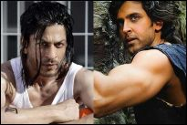 Shah Rukh Khan and Hrithik Roshan