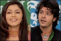 Pooja Sharma (Sanchi) and Aniruddh Dave (Indu Singh)