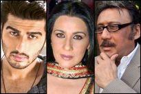 Arjun Kapoor, Amrita Singh and Jackie Shroff