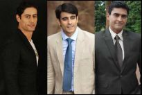 Mohit Raina, Gautam Rode and Mohnish Behl