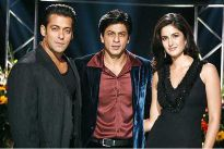 Salman Khan, Shahrukh Khan and Katrina Kaif