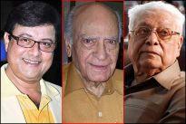 Sachin Pilgaonkar, A K Hangal and Basu Chatterjee