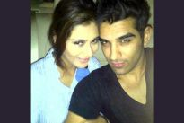 Sara Khan with Paras