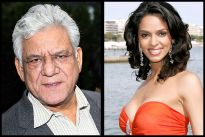 Om Puri and Mallika Sherawat